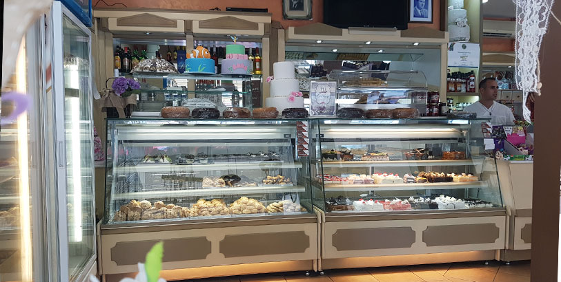 Vouros Pastries in Kalymnos has all the sweets, your heart desires