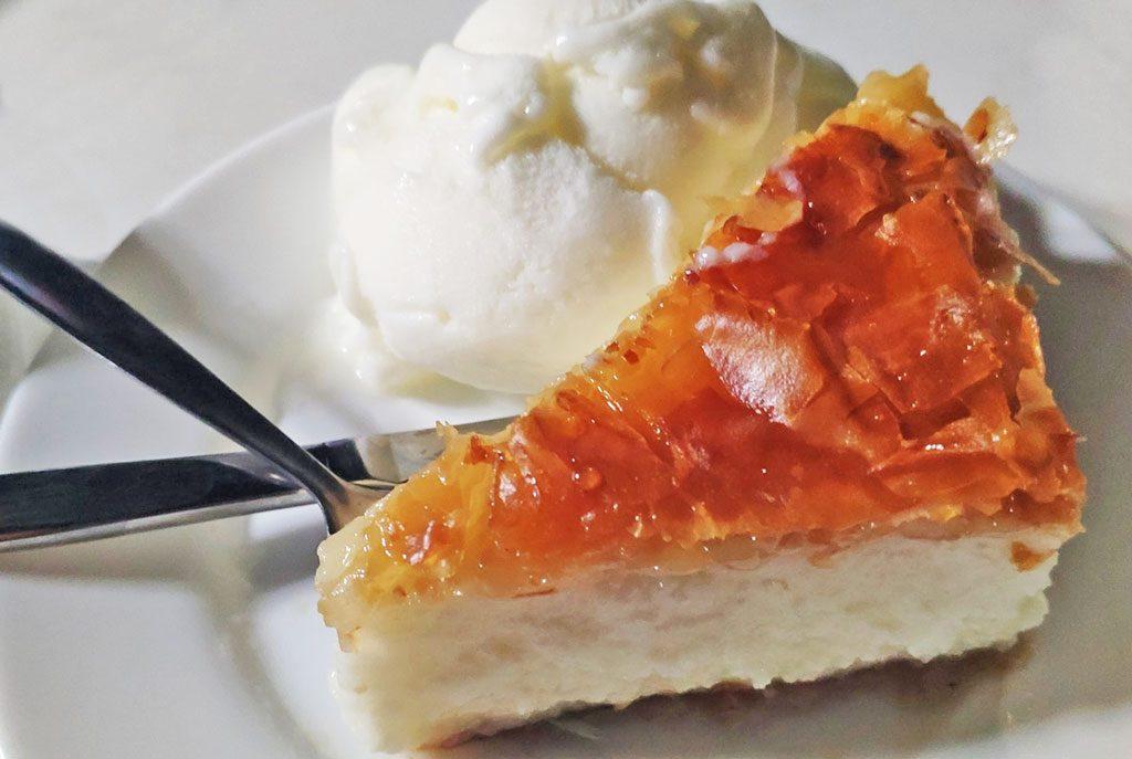 Galaktompoureko - Greek custard pie