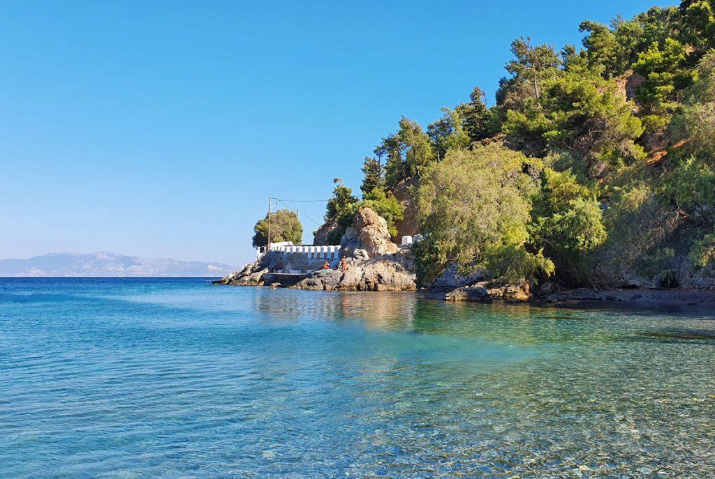 Gefyra beach, Kalymnos