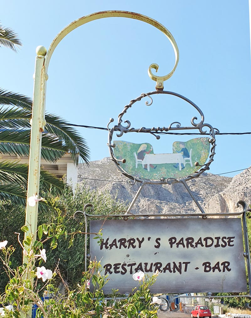 Harry's Paradise restaurant and bar