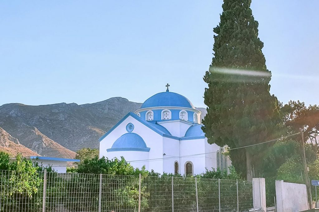 Greek Orthodox church in Vathy