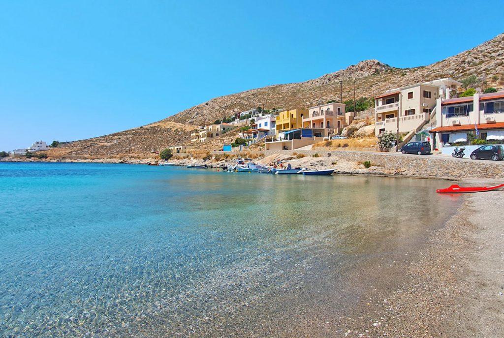 Vlychadia beach Kalymnos