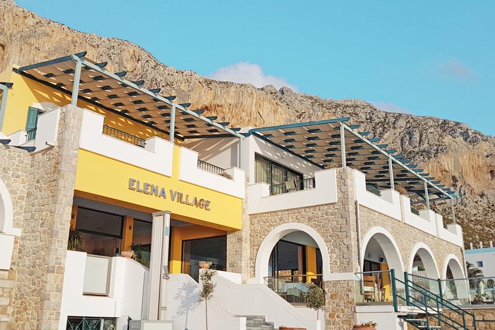 Elena Village in Armeos, Kalymnos (just after Massouri)