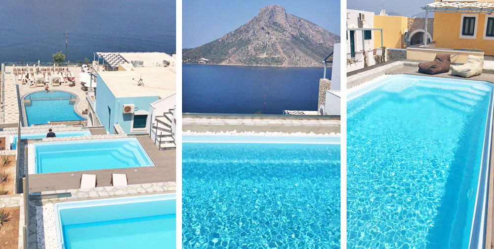 Room with private pool at Elena Village, Kalymnos