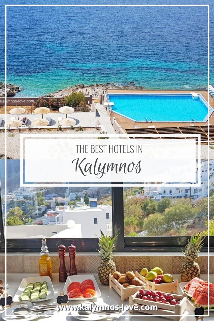 The best hotels in Kalymnos